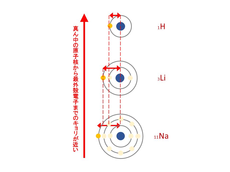 原子半径(縦)